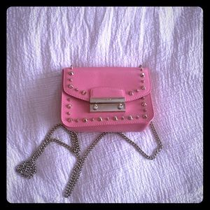 Furla mini metropolis crossbody bag in pink